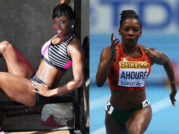 Murielle ahouré sportive et féminine