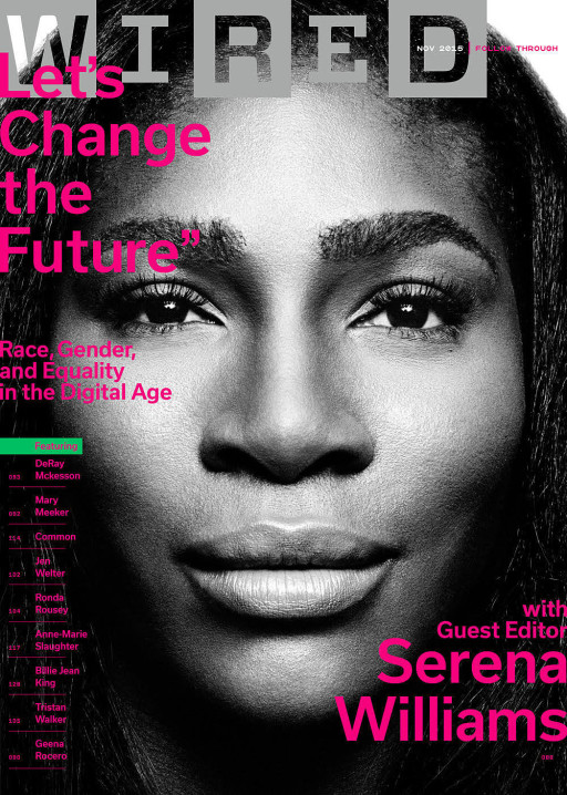 Serena Williams Wired