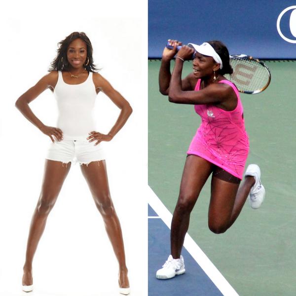 Venus_Williams sportive et féminine