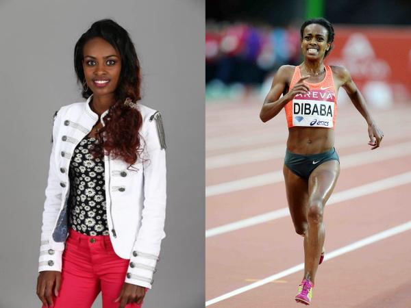Genzebe Dibaba sportive et féminine