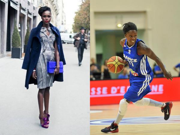 Emilie Gomis sportive et féminine