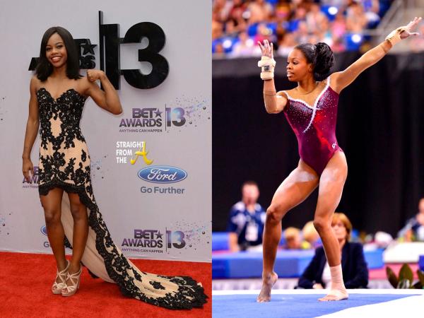 Gabrielle Douglas sportive et féminine