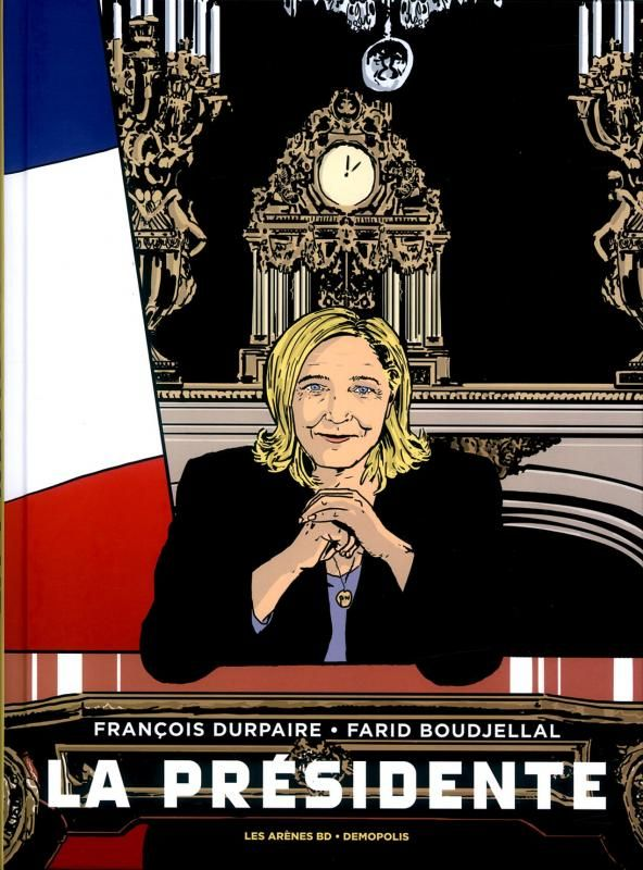 Marine Le Pen à l'Elysée : qu'est-ce que ça changerait vraiment pour les Noirs de France ? La BD choc sur le FN au pouvoir