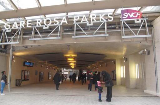 La SNCF ouvre une gare Rosa Parks sur le RER E