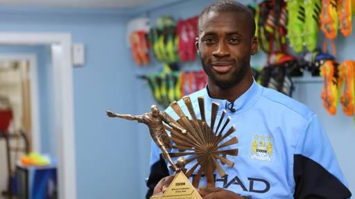 Trophée BBC : Yaya Touré, le meilleur footballeur africain de l'année 2015