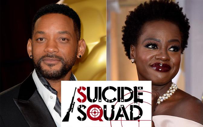 Will Smith et Viola Davis dans le prochain film DC Comics