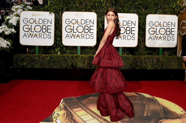 Zendaya-Golden Globes