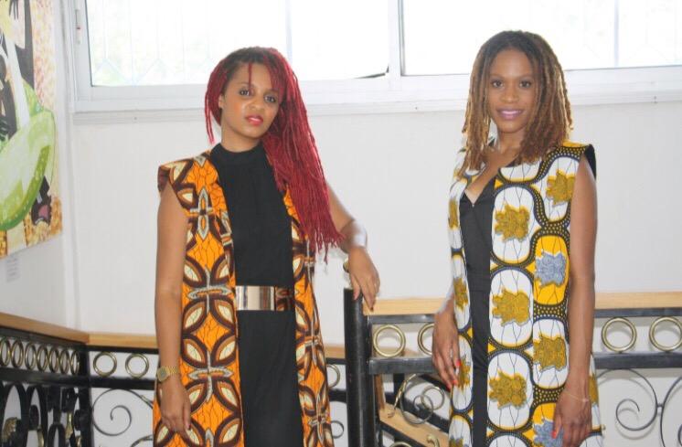 Malika Jean-François et Florelle Manda au Congo (Brazzaville). Crédit photo: Meryll Mezath des Dépêches de Brazzaville