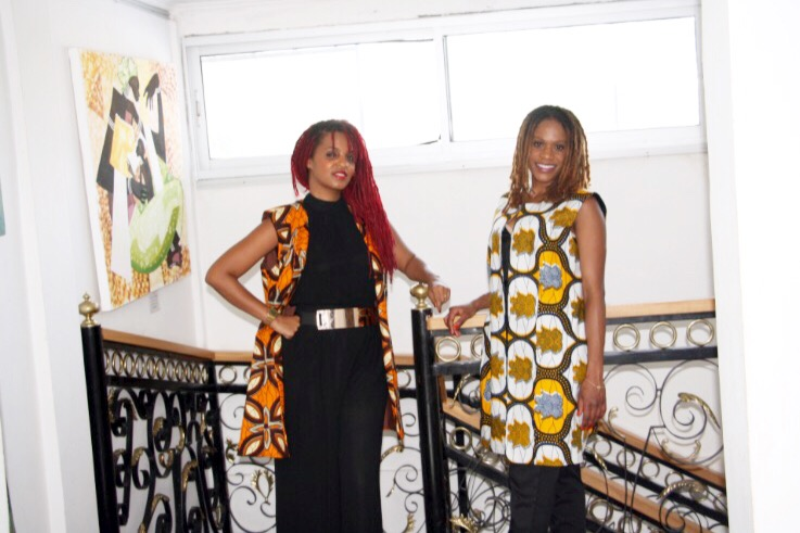 Florelle Manda et Malika Jean-François au Congo (Brazzaville). Crédit photo: Meryll Mezath des Dépêches de Brazzaville
