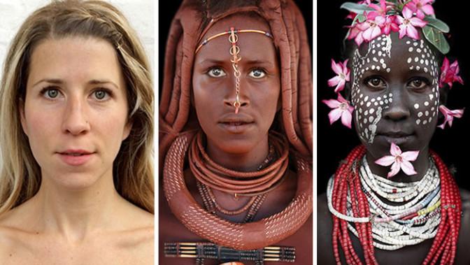 Se photoshoper en Noire pour attirer l'attention sur les peuples tribaux d'Afrique ?