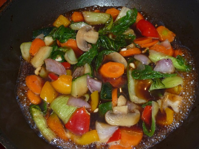 Chop Suey de bons légumes à la Mauricienne