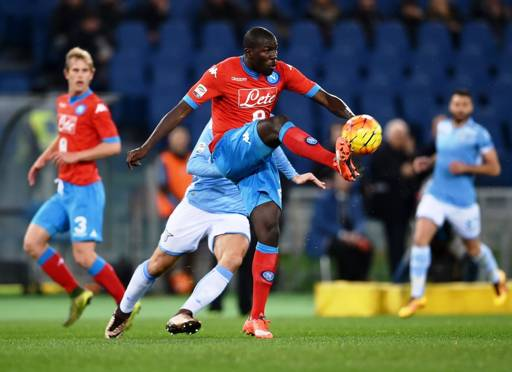 Football : des cris racistes contre Kalidou Koulibaly à Rome