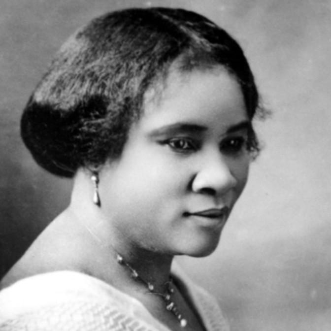 Madame C. J Walker : de fille d'esclaves à millionnaire