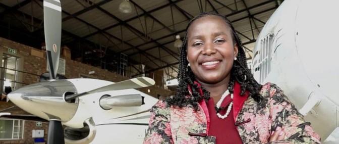 Afrique du Sud : refusée en tant qu'hôtesse de l'air, elle crée sa propre compagnie aérienne
