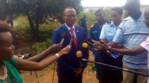 Freddy Mbonimpa, maire de Bujumbura