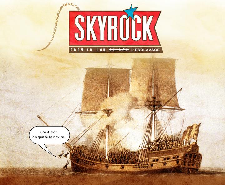 """""""Skyrock premier sur le Rap"""" : bateau d'esclaves ?"""