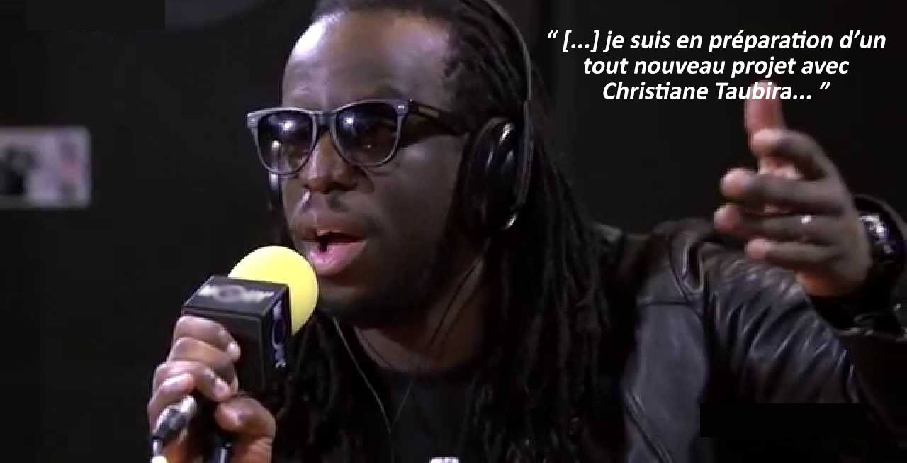 Musique : Christiane Taubira et Youssoupha collaborent ?