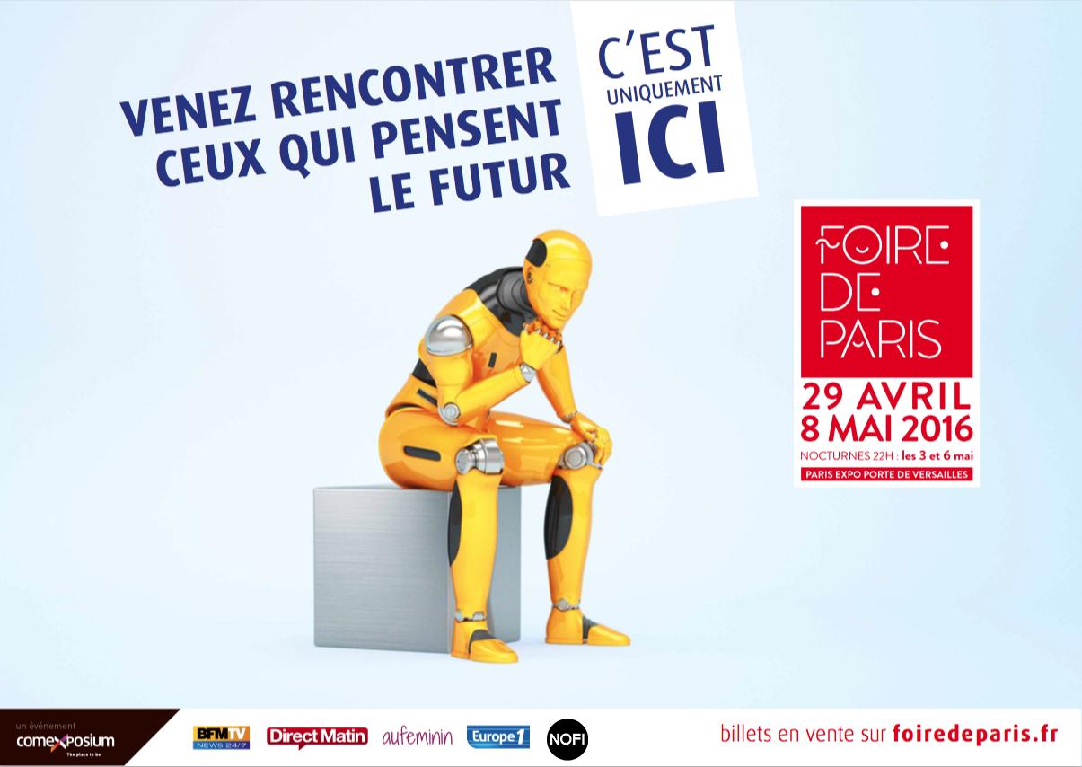 SAVE THE DATE ! La Foire de Paris vous ouvre à nouveau ses portes du 29 au 8 Mai prochain.