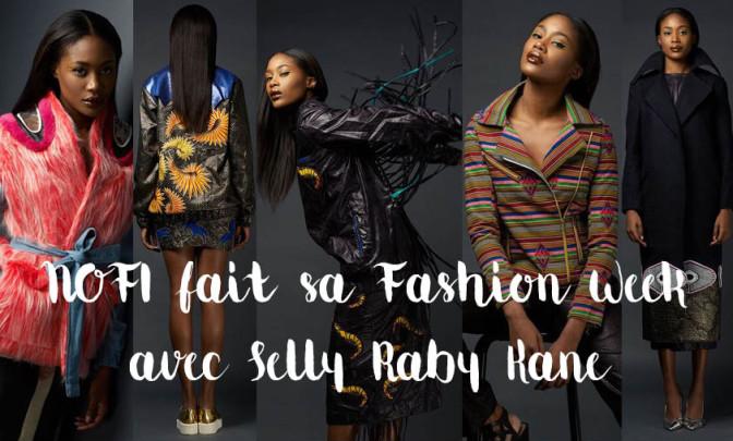 NOFI fait sa Fashion Week avec Selly Raby Kane