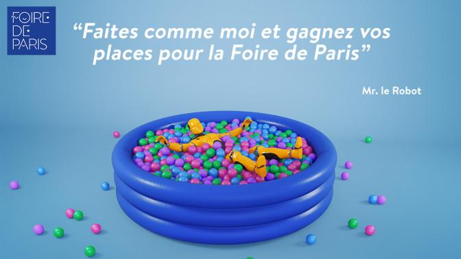 [TERMINÉ] Foire de Paris 2016 : gagnez vos places pour ce salon