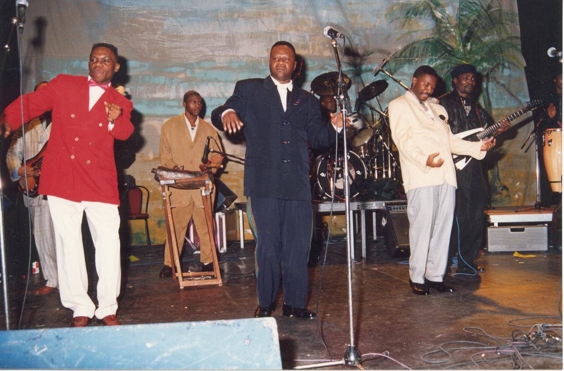 Papa nWemba et l'orchestre Viva la Musica