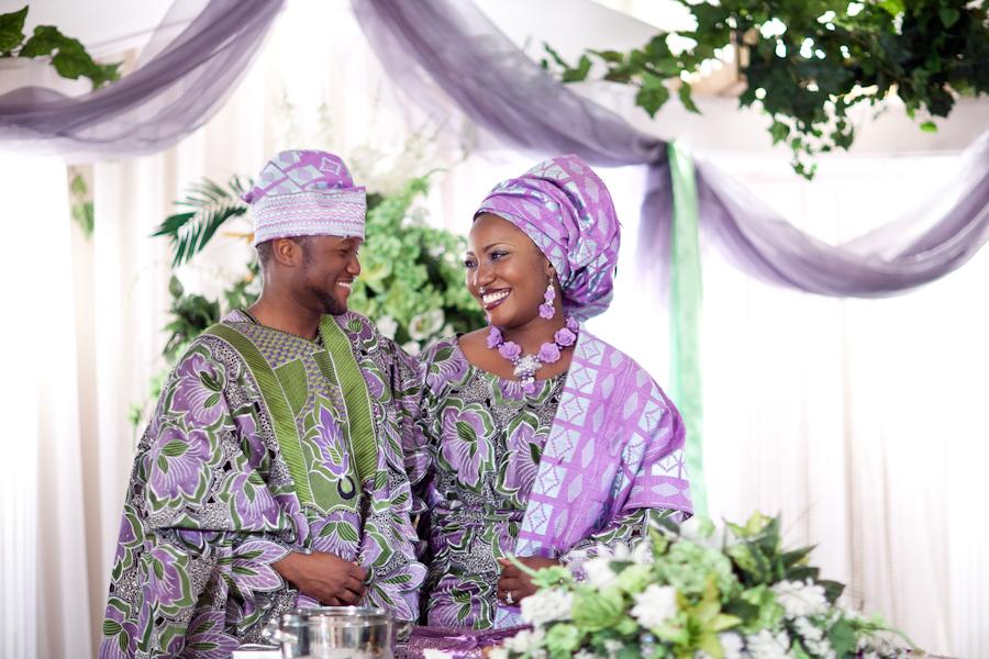 Couple Yorouba Photo: Tissu Africain