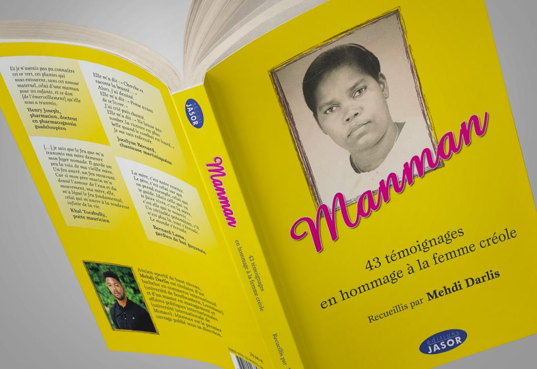 """Mehdi Frantz Darlis : gagnez son livre """"Manman"""""""