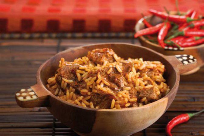 Délicieuse recette d'un bon riz à la viande
