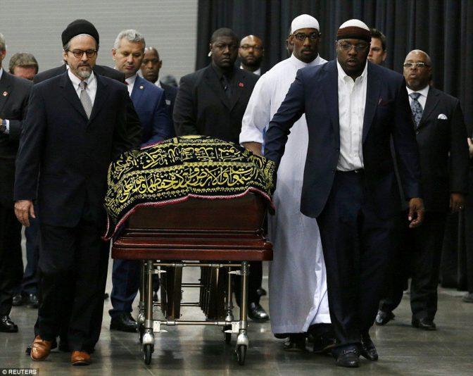 Mohamed Ali, des obsèques dignes d'un grand homme !