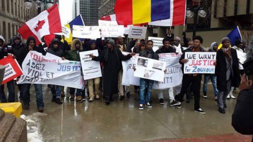 Marche pour Zouhoura à Ottawa