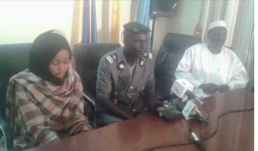 Zouhoura au Commissariat au Tchad