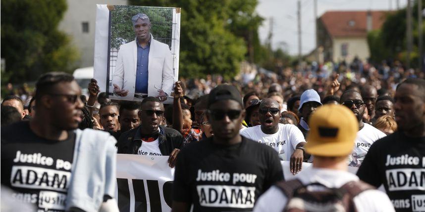 Marche blanche en hommage à Adama Traoré le 24 juillet 2016