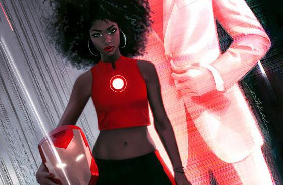 Comics : Le nouvel Iron Man est une «Iron Woman» noire de 15 ans