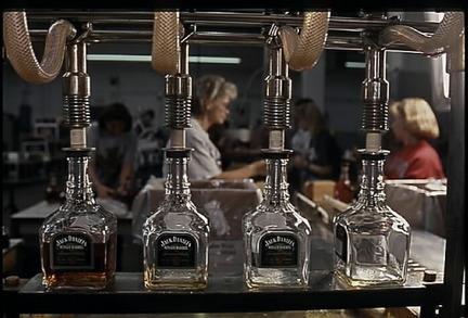 La distillerie Jack Daniel's à Lynchburg