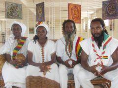Membres de la famille Jah originaire de Guadeloupe et installée avec succès au Bénin depuis 1997