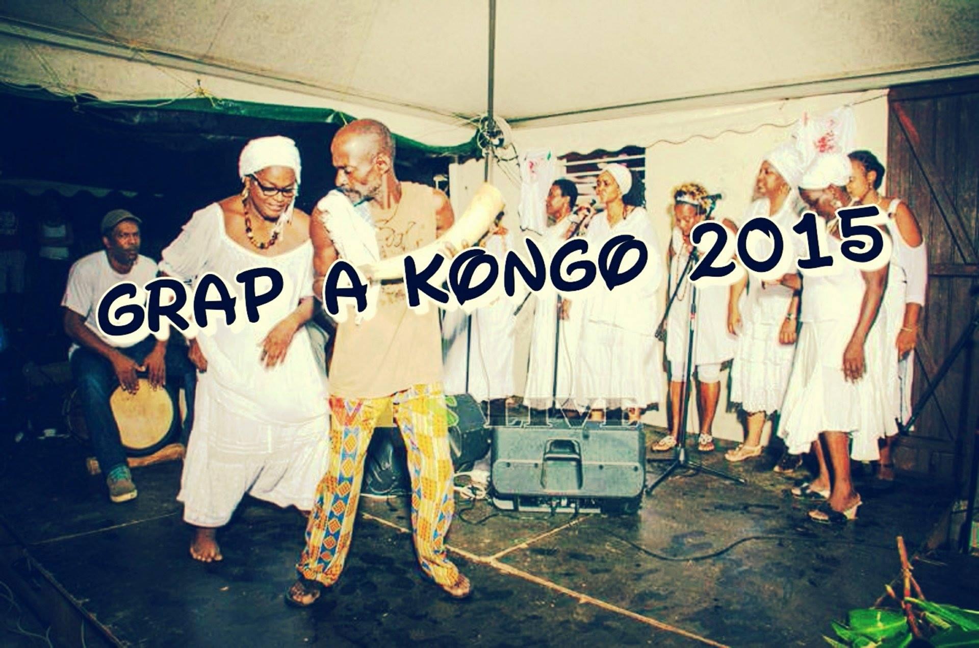 Cérémonie Grap a Kongo perpétuée par la famille Massembo de Guadeloupe