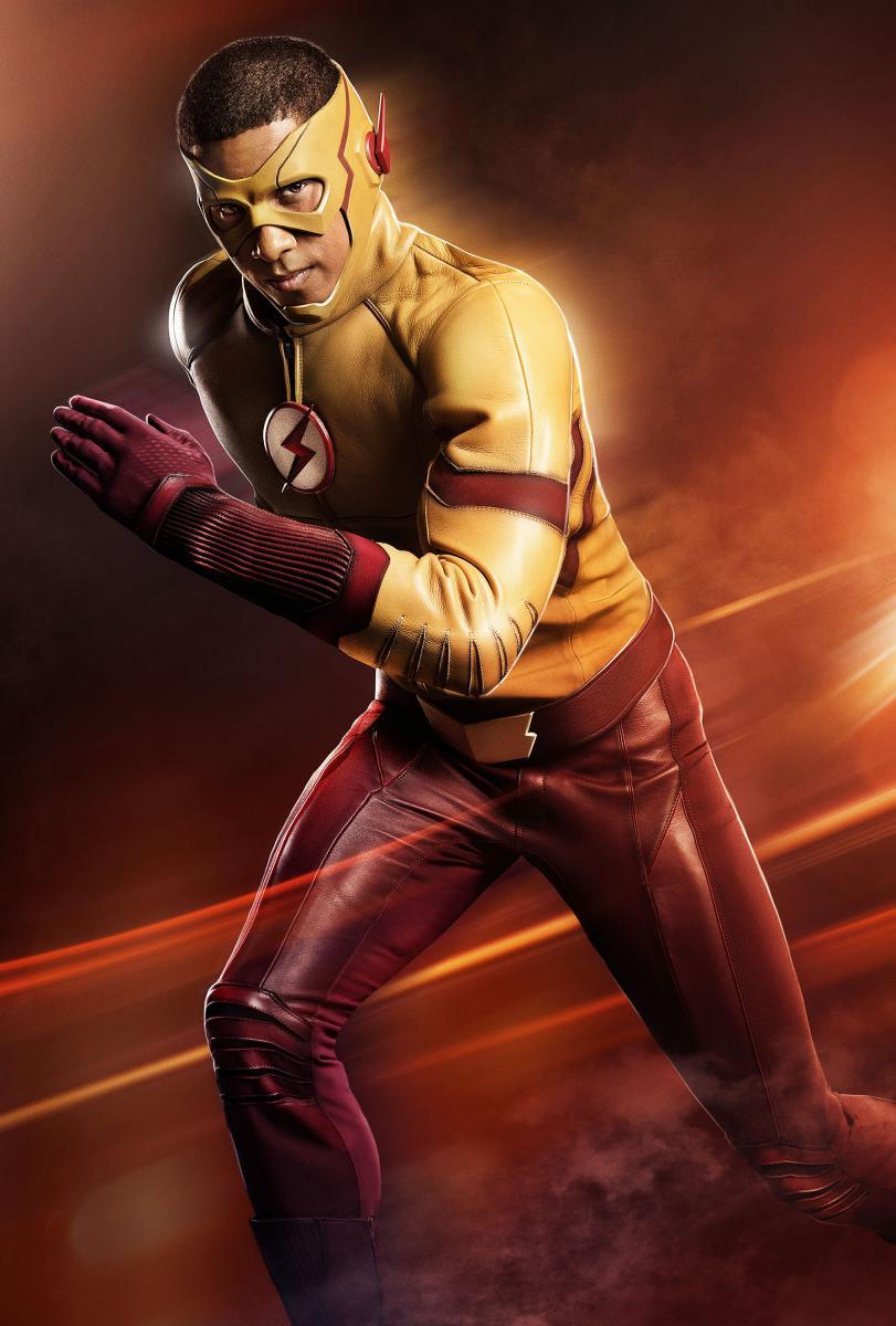 The Flash - Les premières images de Keiynan Lonsdale en Kid Flash