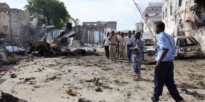 Somalie : 13 morts après un double-attentat suicide à Mogadiscio