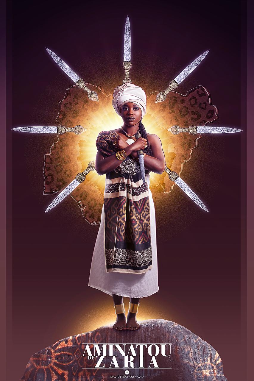 La Reine Aminatou de Zaria Crédit photo: Miguel Charles