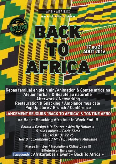 BACK TO AFRICA Affiche OK