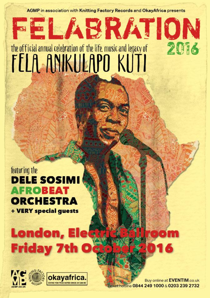 Felabration – Festival en hommage à Fela Kuti