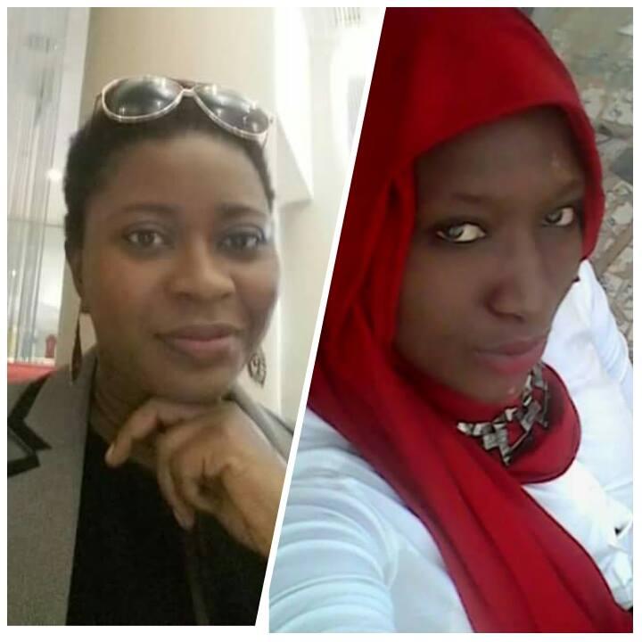 Zeyna Sylla (à gauche) et Salima Lo (à droite)