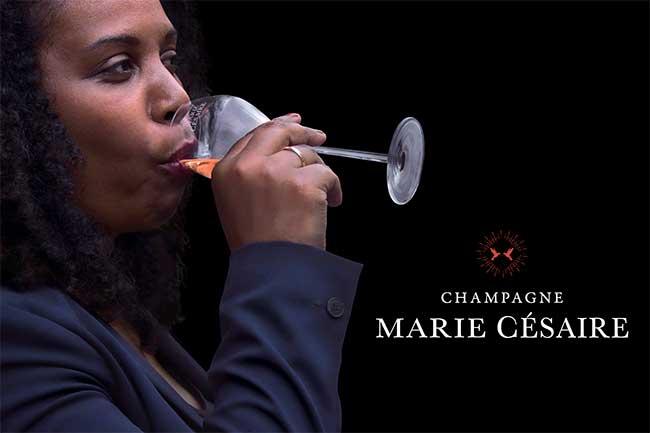 Marie-Inès Romelle, une guadeloupéenne pionnière dans l'industrie du champagne