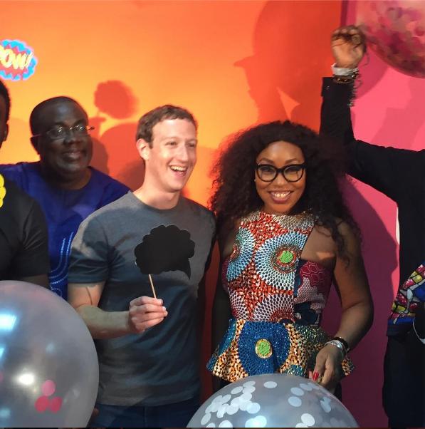 Marc Zuckerberg en visite à Nollywood