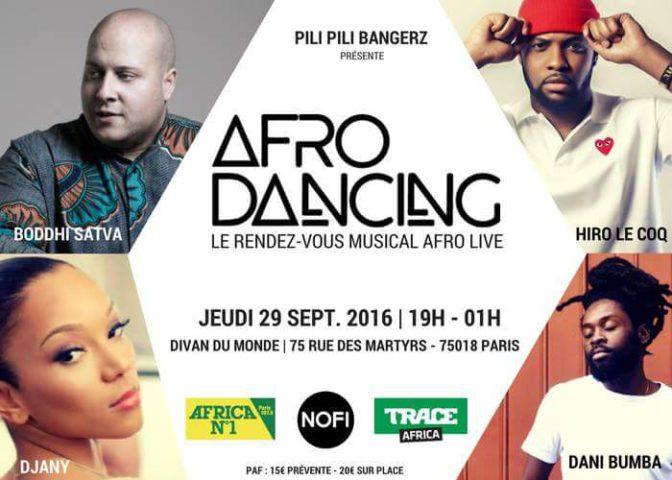 Afro Dancing: le nouveau rendez-vous mensuel afro live à Paris
