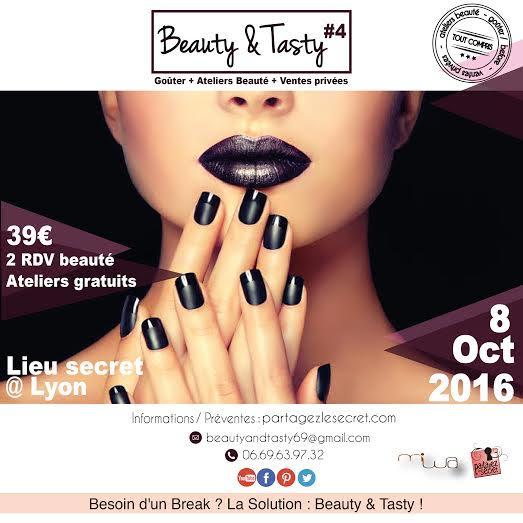 [TERMINḖ] Gagnez votre invitation pour le Beauty & Tasty – le 8 oct à LyonḖ
