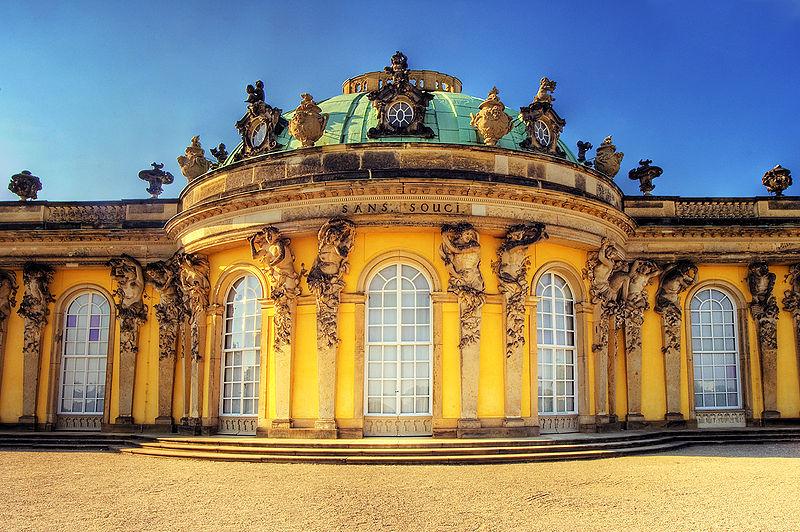 Le palais Sans Souci de Potsdam