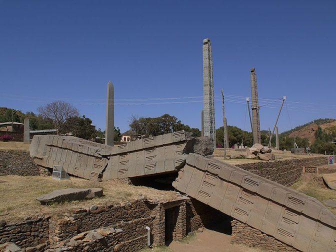 La plus grande obélisque de l'Antiquité est africaine