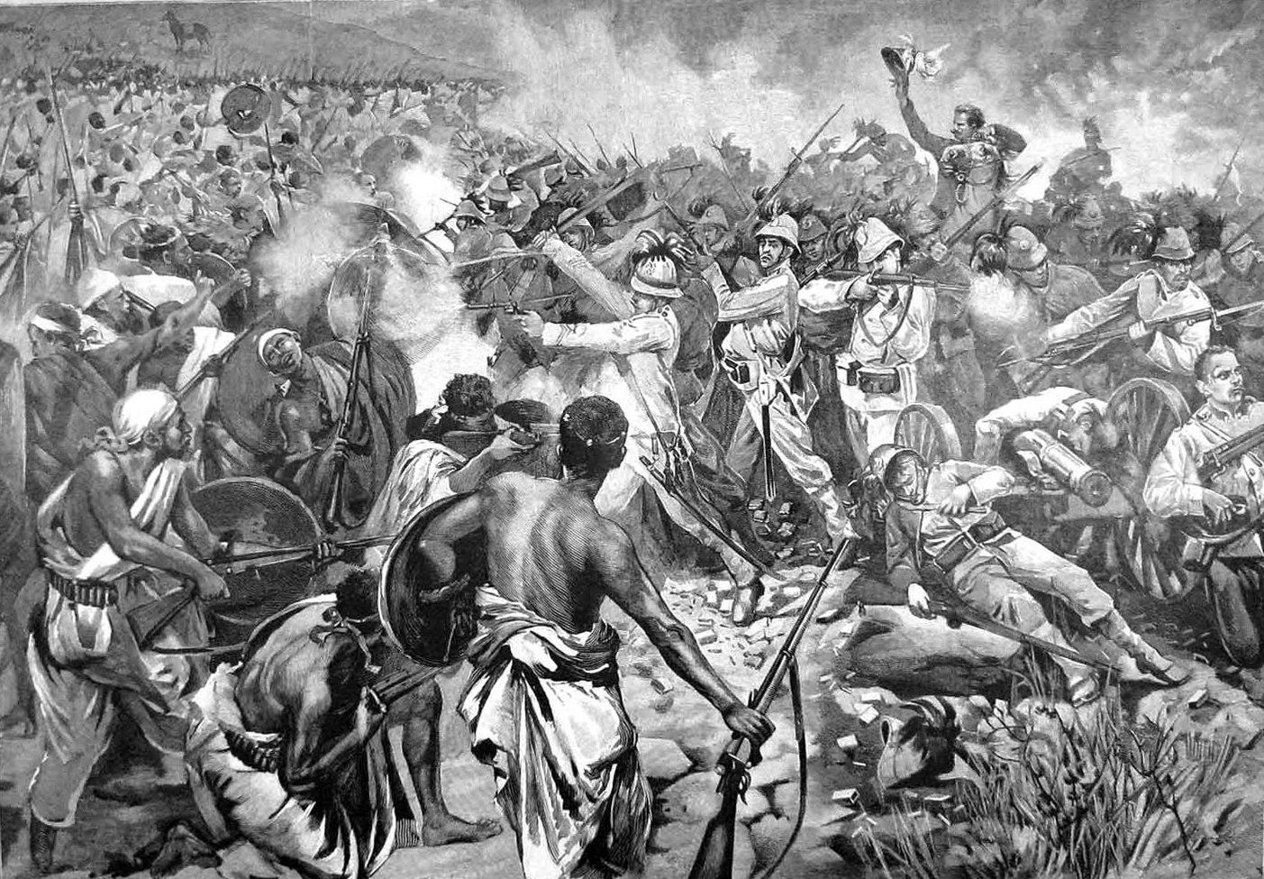 Guérilla forestière menée par les troupes Ashanti contre l'armée britannique