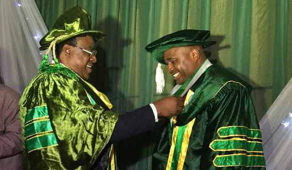 Nollywood : Kenneth Okonkwo Docteur en économie!